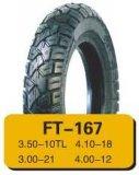 Neumático durable y tubo interno, fábrica profesional de la motocicleta de la calidad para el comprador confiable