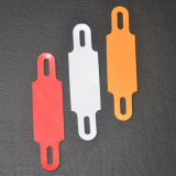 KoaxialCable Marker Label in Orange und in Red