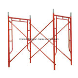La escala enmarca sistemas del marco del andamio/del encofrado del andamio de China/de marcos