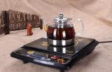 ガラス体のステンレス製の最下のやかんのコーヒー鍋