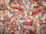 Tessuto di stirata del Seersucker della stampa