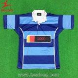 De Healong de sport Jersey de rugby sublimés par teinture entièrement avec la qualité
