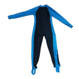 Long Wetsuit de &One-Morceau de vêtements de bain de douille de Lycra