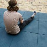 Patio colorido de goma Azulejos