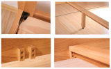 Camas matrimoniales modernas de la cama de madera sólida (M-X2231)