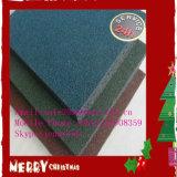 Placas de borracha coloridas de interior Plarground resistentes ao desgaste