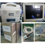 Monitor da ambulância de 7 polegadas Multi-Paramter com porta Etco2 e SpO2