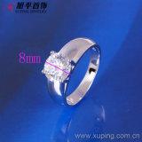 10125 de hete Rhodium van de Verkoop Elegante Ontwerpen van de Ring van de Steen van Juwelen Enige