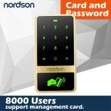Контроль допуска Touch-Screen RFID металла Nt-T12 (карточка +Code)