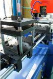 Автомат для резки нержавеющей стали Yj-325CNC гидровлический голубой