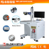 Machine d'inscription de laser de fibre d'acier inoxydable avec du ce, OIN Fol-20