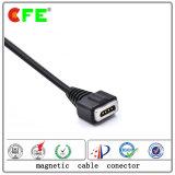 4pin que cobra o conetor de cabo magnético do USB