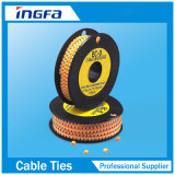 マーキングのための欧州共同体3中国の製造者の卸売PVCケーブルルートのマーカーの管