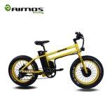 """Bici elettrica del pneumatico grasso unico di disegno 20 """" con il motore di 48V 750W"""