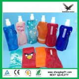Пластмасса BPA печатание полного цвета дешевая освобождает складывая бутылку воды