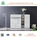 Gabinete de banheiro da madeira contínua de gabinete de armazenamento da sapata do preço do competidor