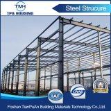 Здания структуры стальной рамки света мастерской гаража