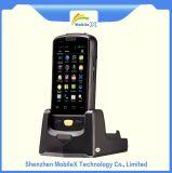 Lecteur de RFID de LF, 125k, 134.2k, SYSTÈME D'EXPLOITATION androïde, unité de collecte de données tenue dans la main