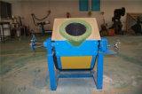 Horno fusorio de la inducción de alta frecuencia de frecuencia media para el cobre del hierro