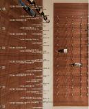 Система хранения клетки вина шкафа вина древесины и металла идеи внедрения новая