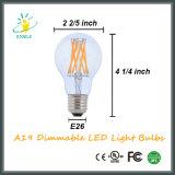 Le lampadine del filamento di A19/A60 E26 LED comerciano l'illuminazione all'ingrosso esterna dell'interno