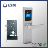 Bloqueo de puerta electrónico del hotel de la tarjeta Keyless del golpe fuerte del acero inoxidable de Orbita 304 E4131