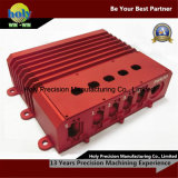 Peças fazendo à máquina do CNC do alumínio eletrônico das peças sobresselentes 6061-T6