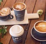使い捨て可能冷たく熱い二重囲まれた絶縁体のコーヒー紙コップを生物分解を起こしなさい