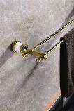 Nuovo doppio accessorio della stanza da bagno della giada della barra di tovagliolo di disegno Zf-561