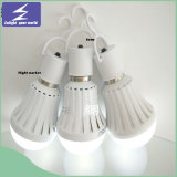 Bulbo plástico E27 de la luz LED de la alta calidad