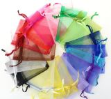 Gift Jewelry Óculos de sol Candy Organza Drawing String Bag for Promotion