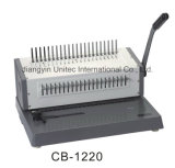 Bindende Machine cB-1220/CB-1220A/CB-1220h van het Boek van de Kam van het bureau de Hand