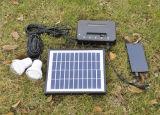 Kampierendes Sonnensystem-Solarinstallationssatz-Solarbeleuchtungssystem 20W