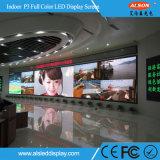 Écran polychrome d'intérieur de l'Afficheur LED P3 pour la publicité