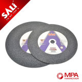 4.5 pulgadas disco abrasivo del corte de 115 x 1.2 x 22.2 milímetros para el metal
