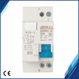 Disjoncteur actuel résiduel de Dpnl 1p+N 32A 230V