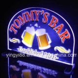 Custom Home Bar Beer Neon Light Sign, Acrílico Signo