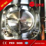 Fait dans le réservoir de matériel de bière de la Chine, fermenteur conique industriel d'acier inoxydable