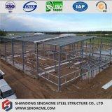 トラス屋根が付いている倉庫のためのPebの鋼鉄建物
