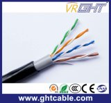 4X0.45mmcu, 0.9mmpe, O.D.: 6.1mm im Freien UTP Cat5e Kabel