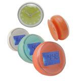 디지털 부엌과 목욕탕을%s 방수 흡입 컵 전자 시계