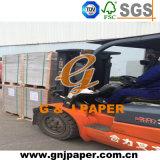 Parte posterior de papel triple del gris del precio barato para la fabricación de cajas del regalo