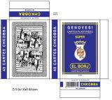 Cartões de jogo de papel do póquer dos cartões do libanês 40 para a promoção