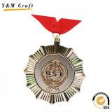 カスタマイズされた丸型の金属メダル(Q09731)