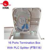 FTTH 16のファイバーのSc/LCのアダプターのための光学Fiberterminationボックス