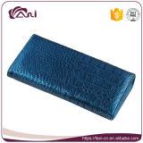 Fani 최신 파란 색깔 악어 피부 진짜 가죽 지갑