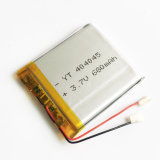 batterie rechargeable du polymère Li-PO de lithium de 3.7V 680mAh 404045 pour la tablette visuelle d'appareil-photo de carter de DIY MP3 MP4 MP5 GPS PSP
