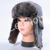 Chapéus de Earflaps de lã de inverno de peluche
