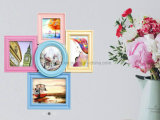 Moldura fotográfica de colagem de fotos decorativas multi plásticas