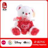 Urso novo da peluche do projeto para o dia do Valentim